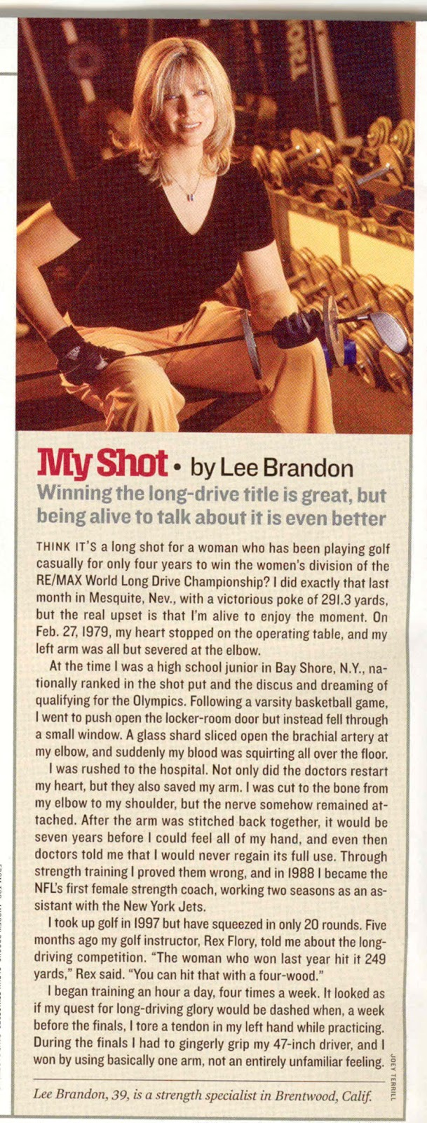 Sports Illustrated - Lee Brandon