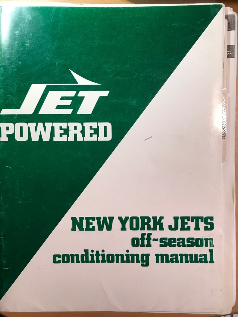 NY Jets Manual for Coaching Staff 1990-1991